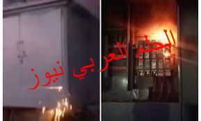 إنفجار محول كهرباء وسط كتلة سكانية بقرية البرادعة ومطالبة الأهالى بإزالته