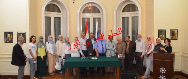 فى الزيارة الأولى لاتحاد كُتاب داغستان سعيد بالدفء المصري