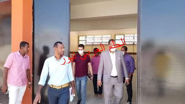 هيئة الأبنية التعليمية تتسلم مبني مدرسة الطود الثانوية الزراعية بمدينة الطود في الاقصر
