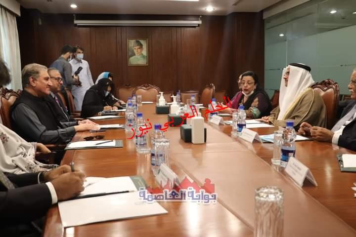 رئيس البرلمان العربي يثمن المواقف المشرفة لجمهورية باكستان تجاه القضية الفلسطينية والأزمة اليمنية
