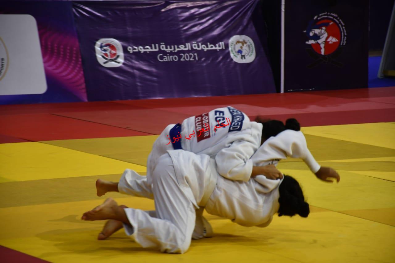 *أشرف صبحي يفتتح البطولة العربية للجودو بالصالة المغطاة * بقلم ليلي حسين
