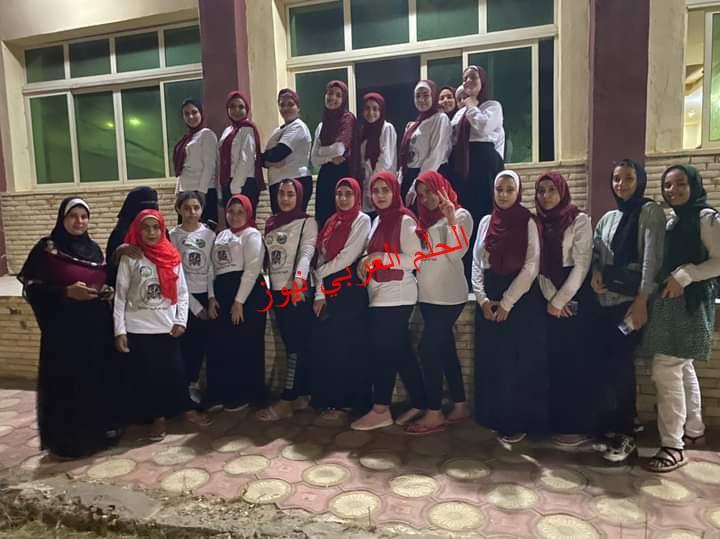 طالبات الفيوم والقاهرة والجيزة والدقهلية برحلة الوزارة براس البر