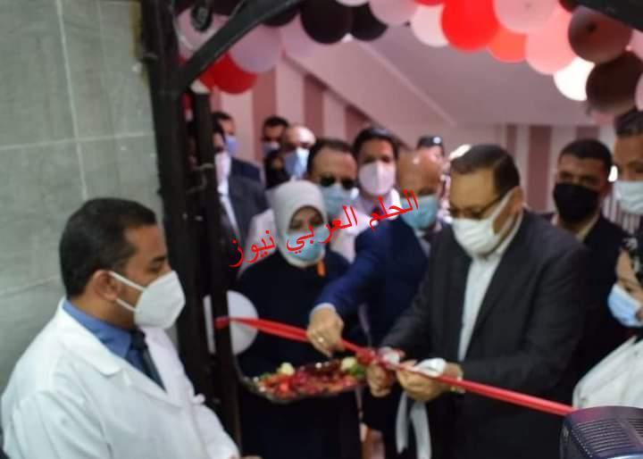 الشرقية: محافظ الشرقية يرافقه وكيل وزارة الصحة يفتتح قسم جراحات القلب المفتوح بالزقازيق العام