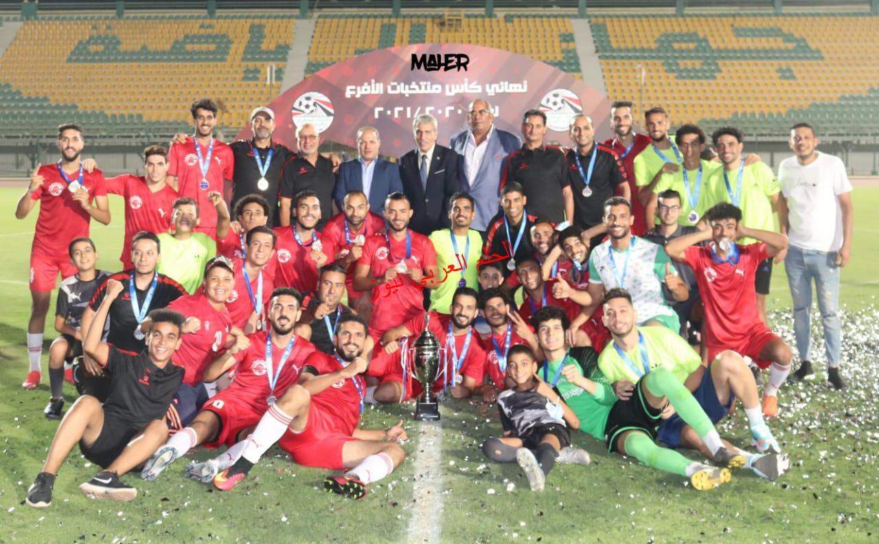 الحلم العربي نيوز تهنئ منتخب الفيوم بالفوز ١/صفر وحصوله علي الكأس
