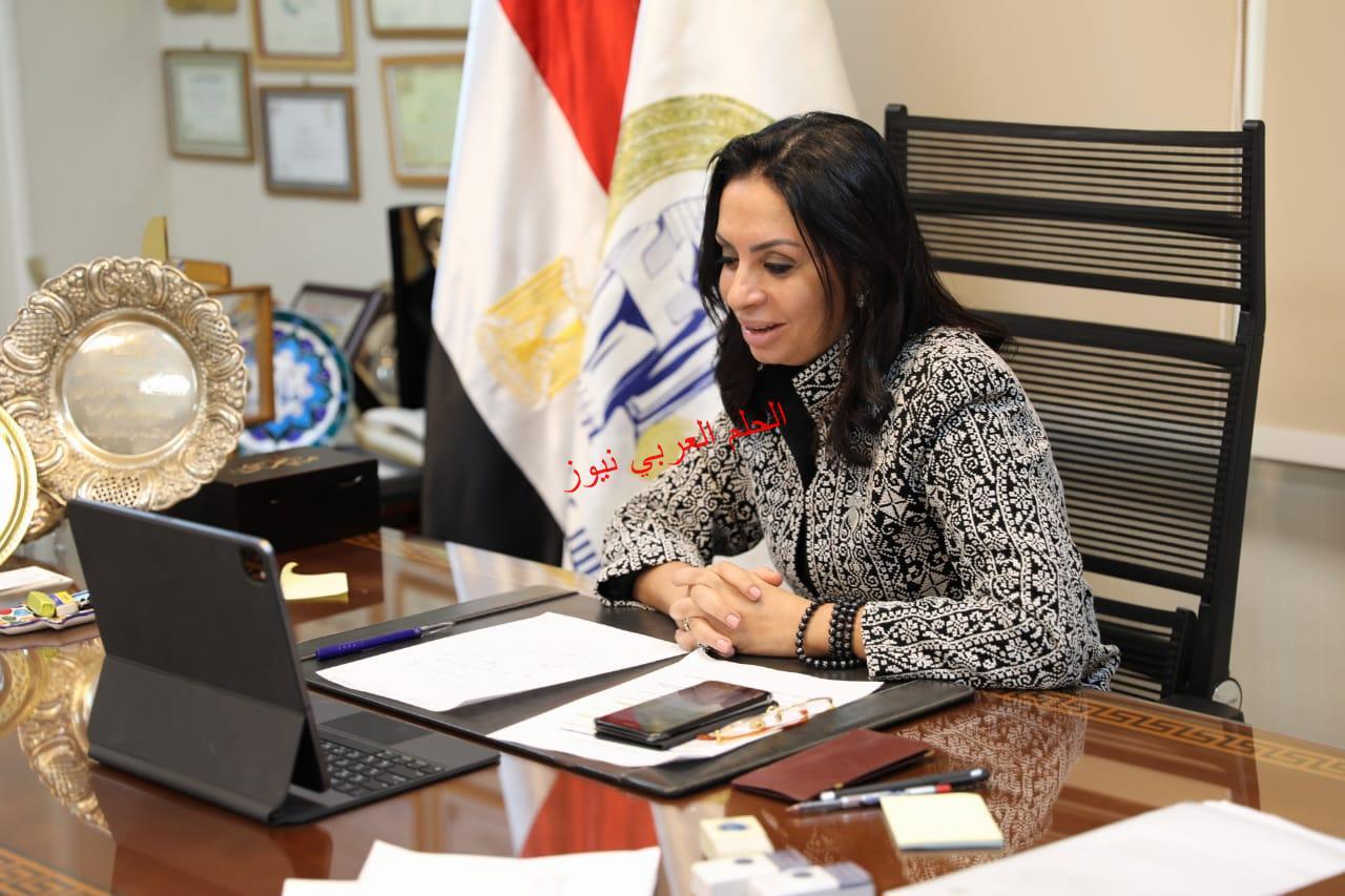 """«القومى للمرأة """" و """"التعاون الدولي» يناقشان تطورات الخطة التنفيذية لمحفز سد الفجوة بين الجنسين بقلم ليلي حسين"""
