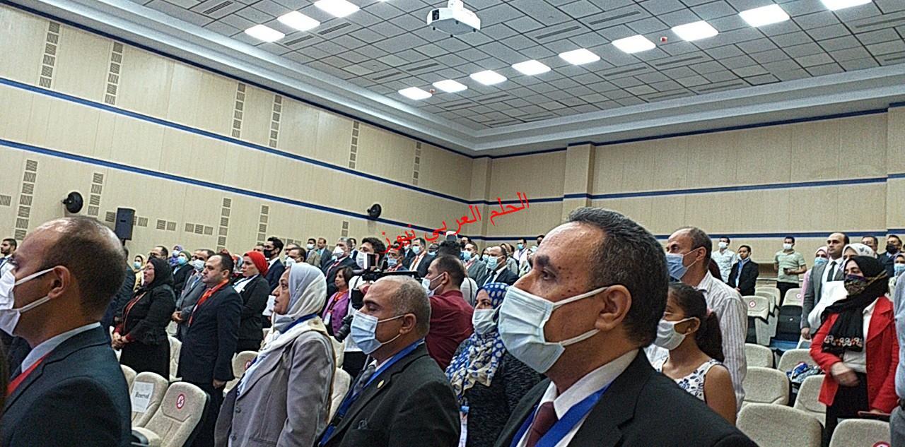 افتتح  اليوم مؤتمر  جامعة الجلالة عن العلم المفتوح بين الدول العربية بقلم ليلي حسين  .