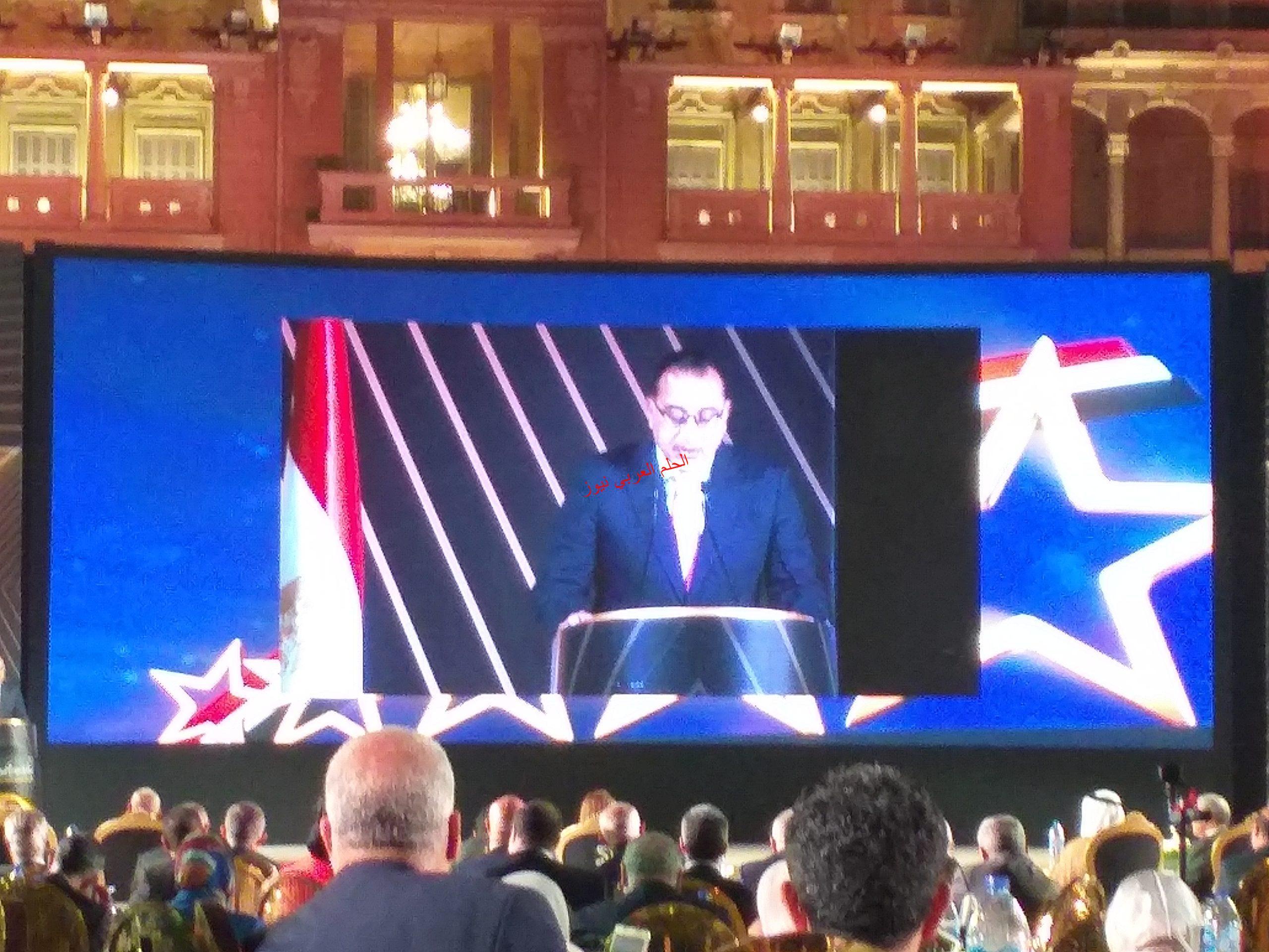 كلمة رئيس مجلس الوزراء دكتور مصطفي مدبولي في اعلان جائزة التميز الحكومي بقلم ليلي حسين
