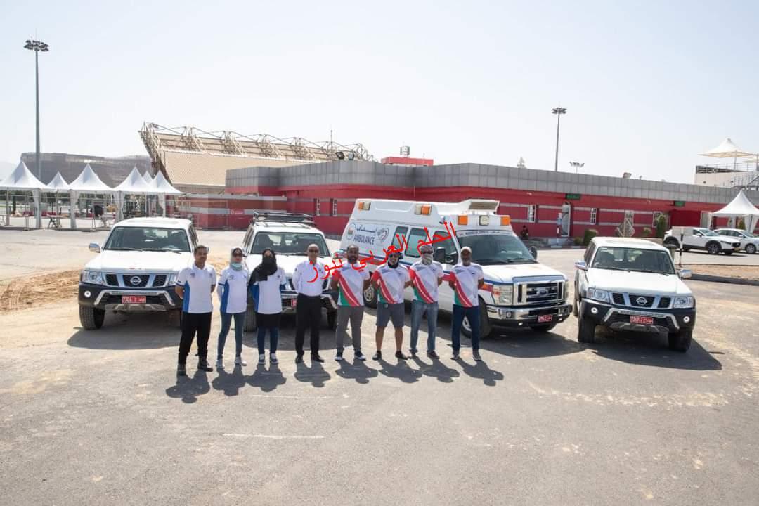 حملة مساعدات للمتضررين من إعصار شاهين.