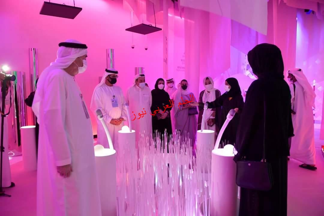 افتتاح جناح جامعة الإمارات العربية المتحدة في إكسبو 2020 دبي.