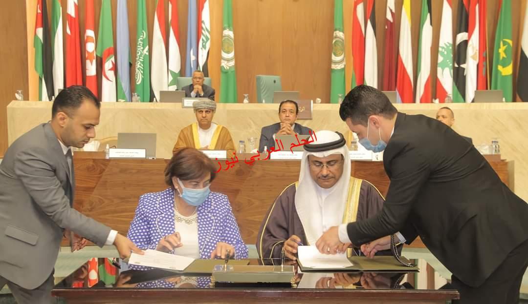منظمة المرأة العربية توقِّع بروتوكول تعاون مع البرلمان العربي.