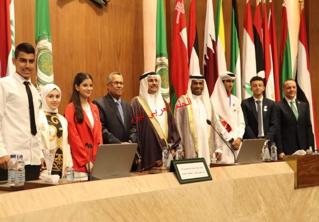 البرلمان العربي يدعم خطط برلمان الطفل لإعداد جيل قادر على بناء المستقبل.