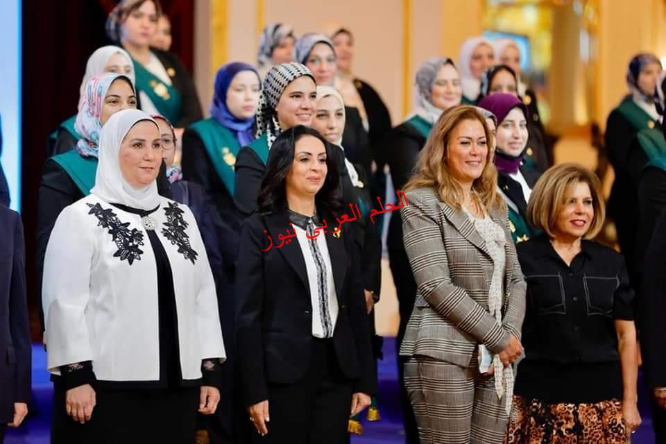 د. مايا مرسي تشارك في احتفالية تكريم القاضيات بمجلس الدولة.