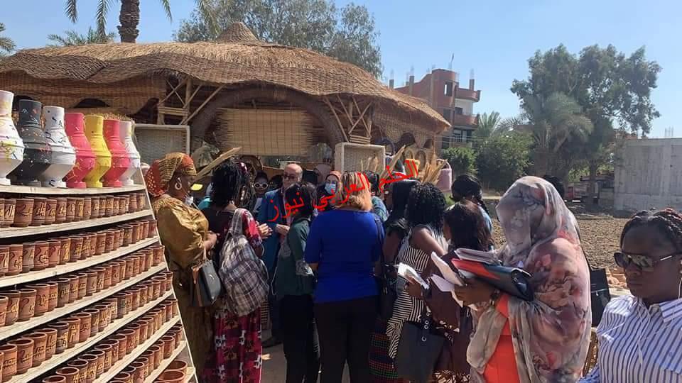 وفد من سيدات دول افريقيا بشارك فاعليات الدورة التدريبية التي ينظمها القومي للمرأة