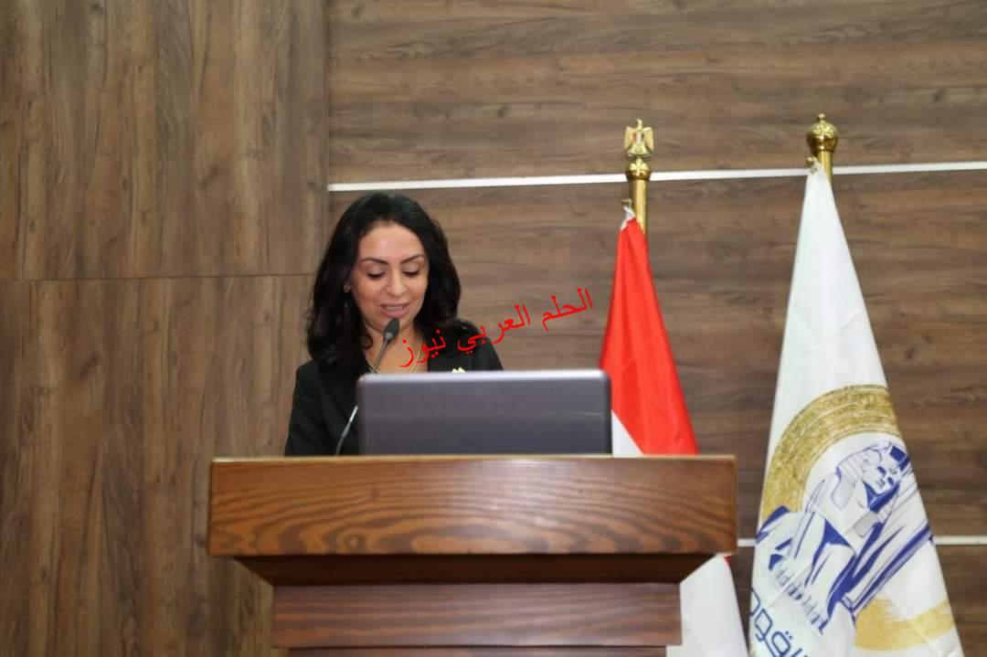 .. كلمة د.مايا مرسي رئيسة المجلس القومي للمرأة خلال شهر التوعية بسرطان الثدي.