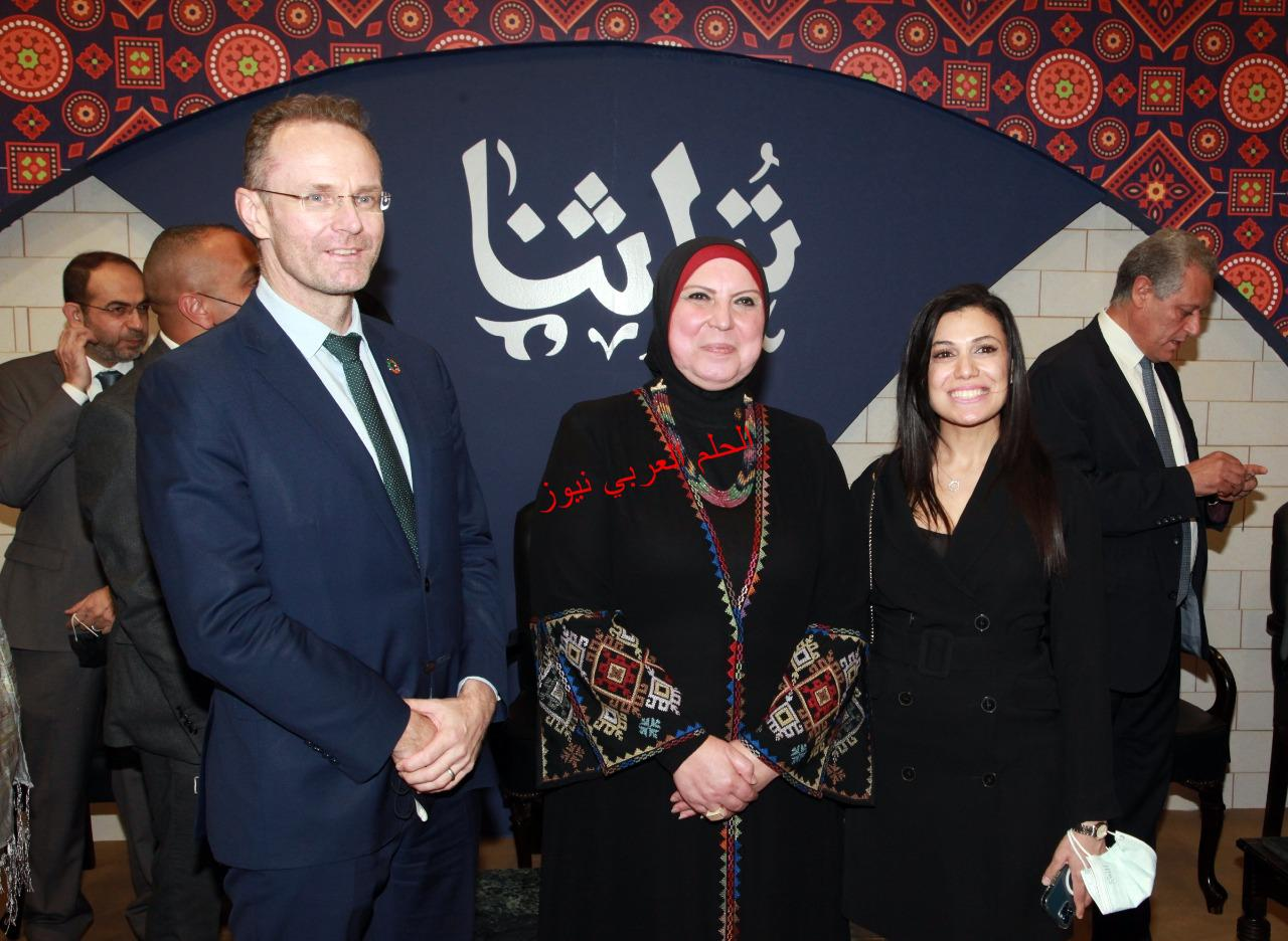 International Financial Institutions and Donor agencies Admire Products of Turathna Exhibition 2021.bay laila hussin