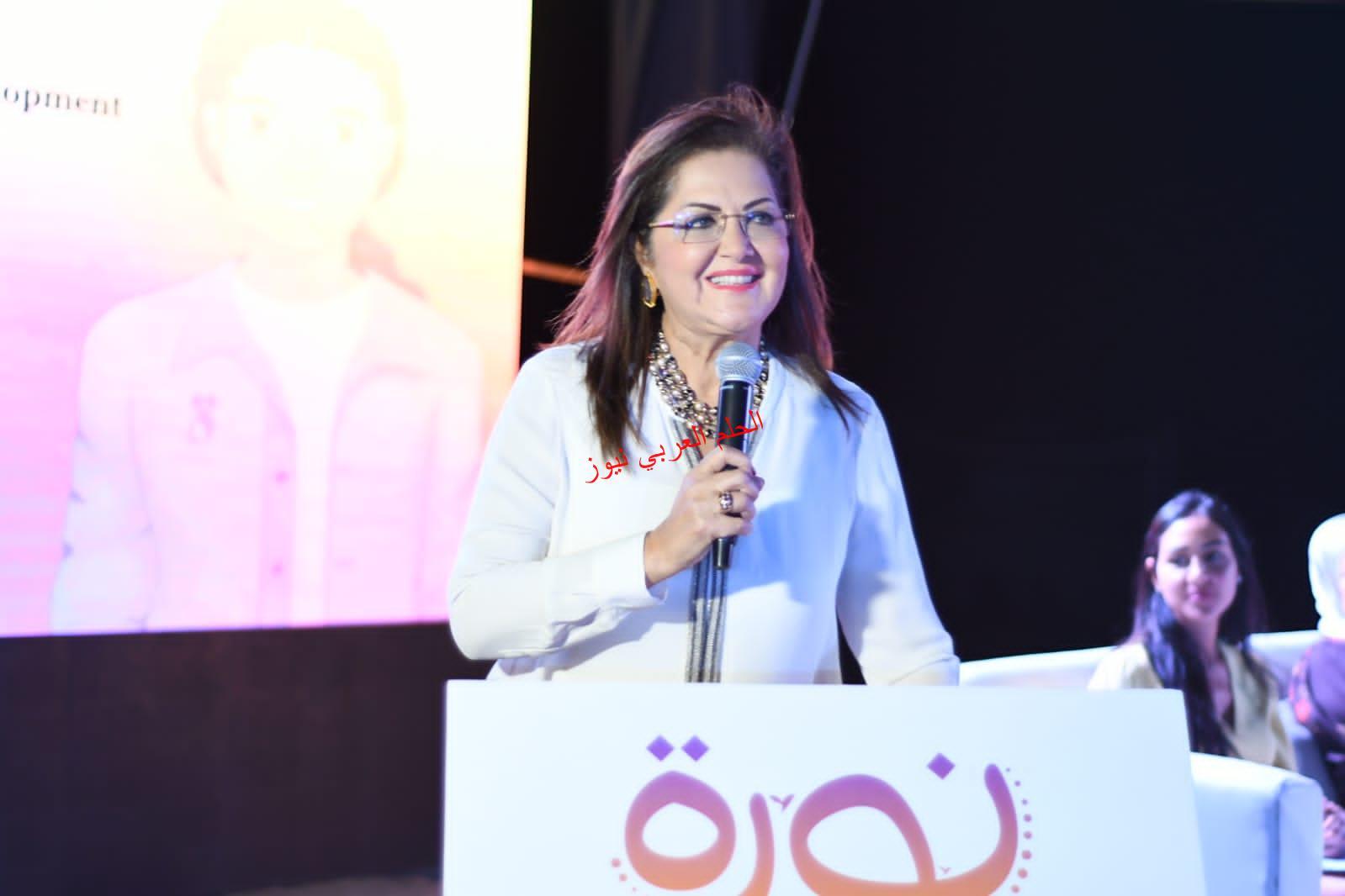"""شاركت وزيرة التخطيط والتنمية الاقتصادية في حفل إطلاق """"مبادرة نورة"""""""