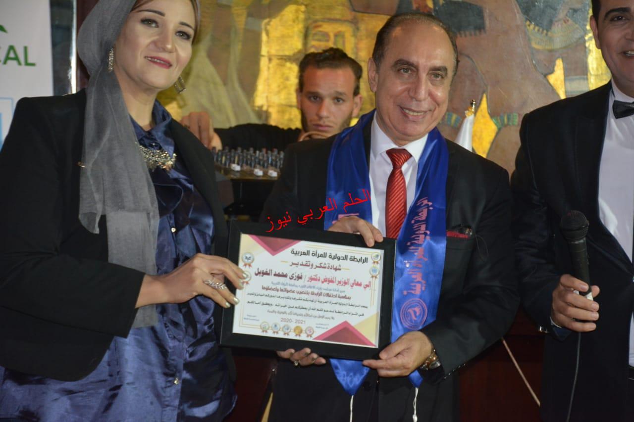حفل تنصيب أعضاء  الرابطة الدولية للمرأة العربية بالقاهرة برئاسة الأستاذة  عبير سليمان